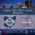 Ohio Music Education Association OMEA 2018 Chagrin Falls Middle School Orchestra CD
