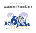 ACDA 2019 National - Vancouver Youth Choir CD/DVD