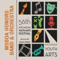 Michigan Youth Arts Festival MYAF 2018 MSBOA Honors Band & Honors Orchestra 5-12-2018 CD/DVD