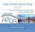 ACDA Eastern 2020 High School Honor Choir 3-7-2020 CDs, DVDs, & Combo Sets