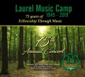 Laurel Music Camp 6-28-19 DOUBLE CD