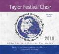 ACDA Southern Division 2018  Taylor Festival Choir CD