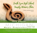 Michigan MMEA 2019 South Lyon HS Varsity Women's Choir CD 1-25-19