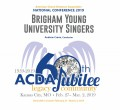ACDA 2019 National - Brigham Young University CD