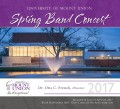 Univ. of Mount Union Band & Wind Ensemble Concert 4-23-2017C CD