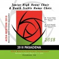 ACDA Western Division 2018 Youth Treble Honor Choir & Jr. High Honor Choir March 14-17, 2018 CD/DVD
