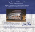 ACDA Illinois 2012 Boys Grades 8-10 Honor Choir Adult Community/Church Honor Choir