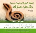 Michigan MMEA 2019 Traverse City West Middle School 8th Grade Treble Choir CD 1-26-19