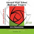 ACDA Western Division 2018 Foothill High School Madrigals March 14-17, 2018 CD