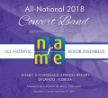 NAfME National Association for Music Education 2018 All National Concert Band  11-28-2018  MP3