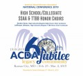 ACDA 2019 National - High School/Collegiate SSAA & TTBB Honor Choir CD/DVD