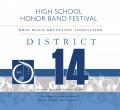 Ohio OMEA District 14 High School Honors Band 1-12-2020  CD