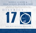 Ohio OMEA District 17 Middle School & High School Honors Band 3-17-2018 CD