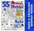 Michigan Youth Arts Festival MYAF 2017 MSBOA Honors Band & Honors Orchestra 5-20-2017 CD/DVD