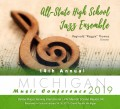 Michigan MSBOA 2019 All-State High School Jazz Band CD 1-26-19