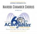 ACDA 2019 National - Nairobi Chamber Chorus CD