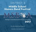 MSBOA District 4 Middle School Honors Band 4-29-2017