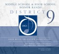 Ohio Music Education Association OMEA District 9 Middle School  & High School Honor Bands 1-14-2017 CD