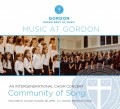 Gordon College Community of Song 10/28/2018 CD