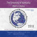 ACDA Southern Division 2018 University of Kentucky Men's Chorus CD