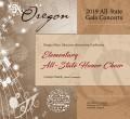 Oregon OMEA 2019 Elementary School Choir 02-14-19 CD/DVD