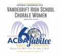 ACDA 2019 National - Vandegrift High School CD/DVD