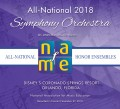NAfME National Association for Music Education 2018 All National Orchestra  11-28-2018  CD- DVD- CD/DVD Set