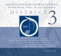 Ohio Music Education Association OMEA District 3 High School Honor Festival 1-15-17 CD