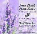 Lorain County Middle School Honors Choir & Band Festival 4-18-2018 CD