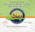 Ohio OMEA 2015 Springfield Middle School 8th Grade Band