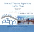 ACDA Eastern 2020 Musical Theatre Honor Choir 3-7-2020 CD