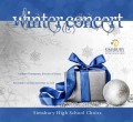 Simsbury High School Choir Holiday Concert  12-13-2018  CD