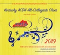 Kentucky KMEA 2019 All State   All-Collegiate Choir 2-7-19 CD