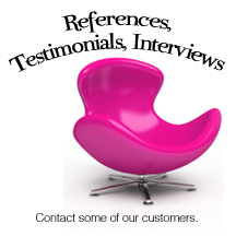 Interviews and Testimonials