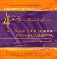 Michigan MMC 2009 All State High School Band and Orchestra CD-DVD Set