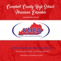 2018 Kentucky Music Educators Association KMEA Feb. 8-10, 2018 Campbell County High School Percussion Ensemble MP3