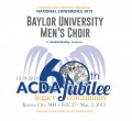ACDA 2019 National - Baylor University Men CD/DVD