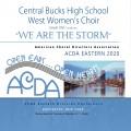ACDA Eastern 2020 Central Bucks High School West Women's Choir CDs, DVDs, and Combo Sets