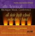 Michigan 2010 All-State High School Orchestra & Band CD-DVD Set