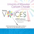 ACDA Central-North Central 2020 University of Milwaukee Concert Chorale CD
