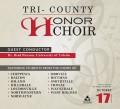 Tri-County Honors Choir 10/17/2018 CD