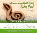 Michigan MMEA 2019 Lake Orion Scripps Middle School Cadet Band CD 1-26-19