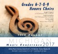 Michigan Music Conference 2017 6-7-8-9 Honors Choirs MP3 1-19-2017