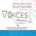 ACDA Central-North Central 2020 Bexley High School Vocal Ensemble CDs, DVDs, and Combo Sets