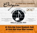 Oregon Music Educators Association 2017 OMEA All- State High School Symphonic Band & Wind Ensemble 1-15-2017 CD/DVD