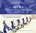 Ohio Private Colleges Instrumental Conductors Association OPCICA 2017 Band & Jazz Honors Festival 1-29-2017 CD