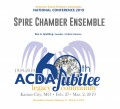 ACDA 2019 National - Spire Chamber Ensemble MP3
