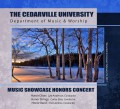 Cedarville University Showcase Honor Band, Choir & Orchestra 2-18-2017 CD