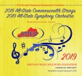 Kentucky KMEA 2019 All State Commonwealth Strings & All-State Symphomy Orchestra  2-7-19 CD/DVD