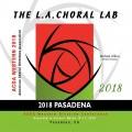 ACDA Western Division 2018 LA Choral Lab March 14-17, 2018 CD